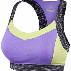 Fila Studio Racerback Purple/Yellow/Gray Bra